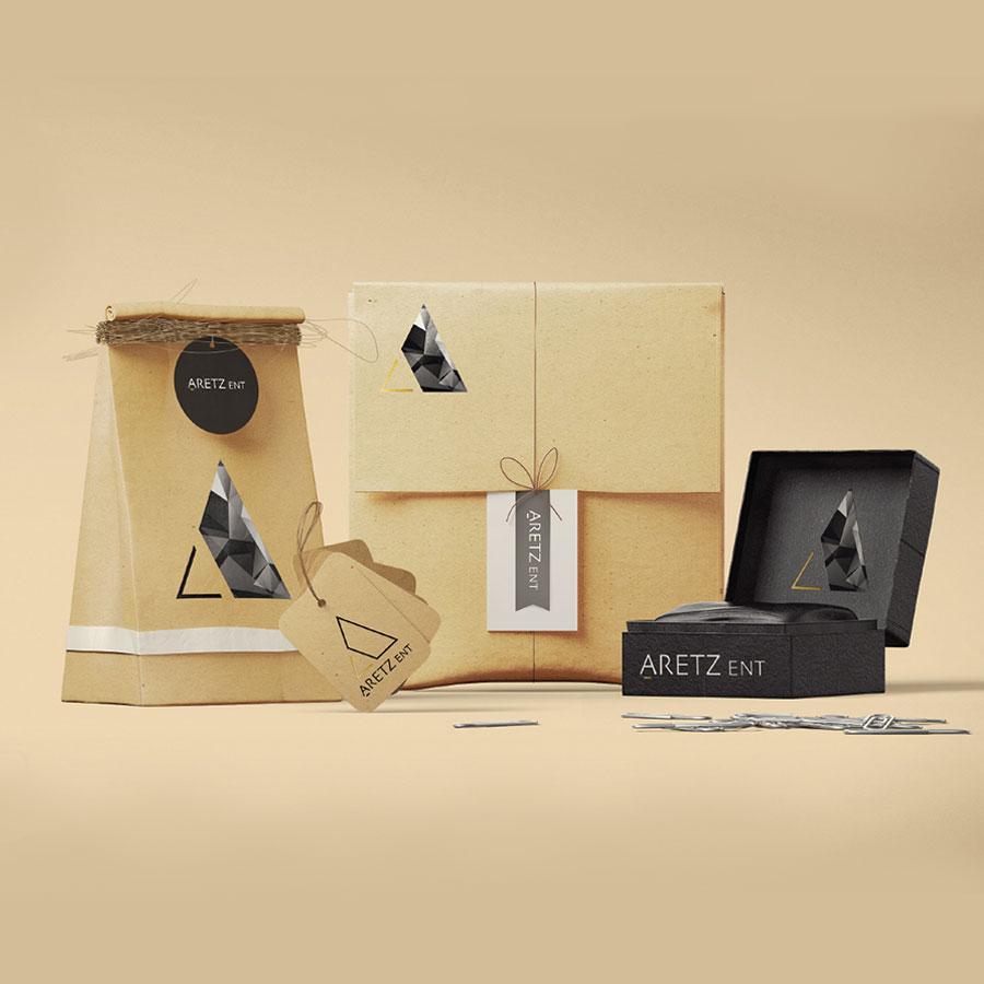 עיצוב מוצרי קידום מכירות לחברת נדל''ן